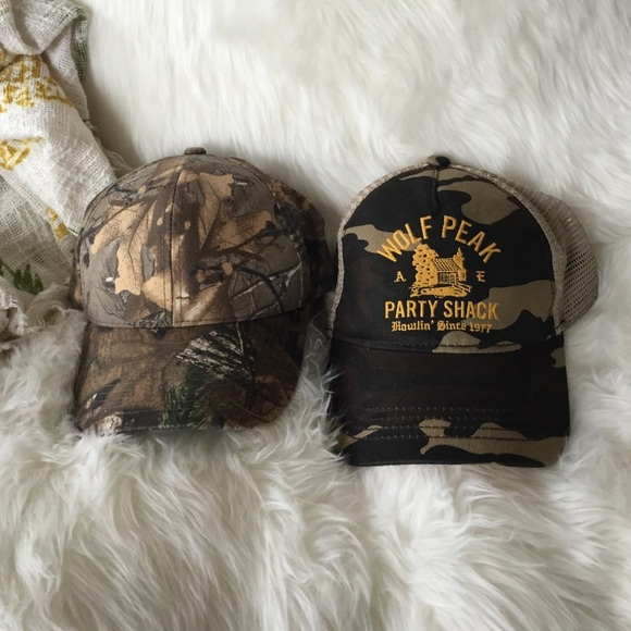 American Eagle Outfitters Accessories - Two country ball caps 2877731884b