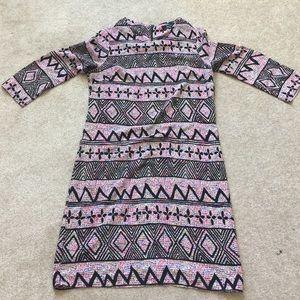 Soprano Dresses & Skirts - Black and Neon Printed Dress