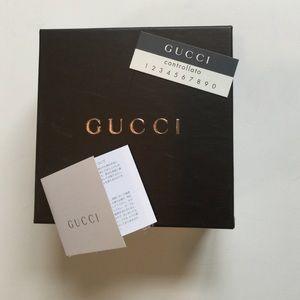Gucci Other - Gucci belt wallet accessory box controllato card