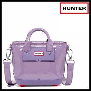 Hunter Handbags - HUNTER ORIGINAL TOTE MINI CROSSBODY Patent Leather
