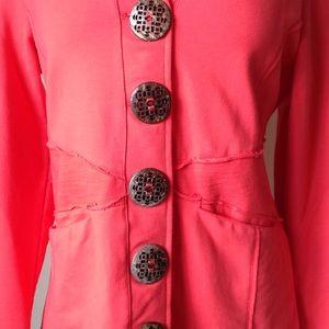 Neon Buddah Jackets & Coats - Neon Buddah Coral Jacket