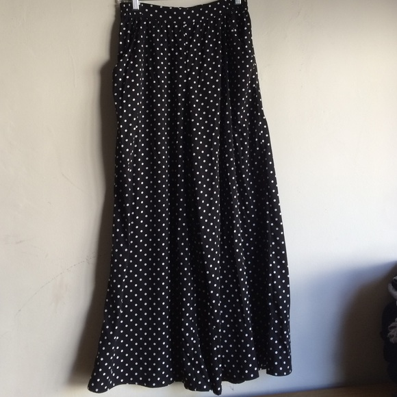 Zara - Zara wide leg polka dot pants from Yuka's closet on Poshmark