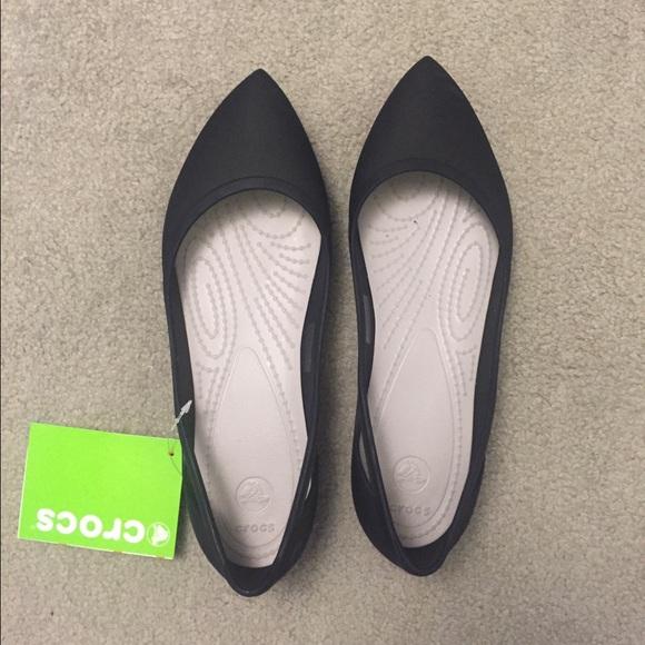 CROCS Shoes | Crocs Rio Flat In Black
