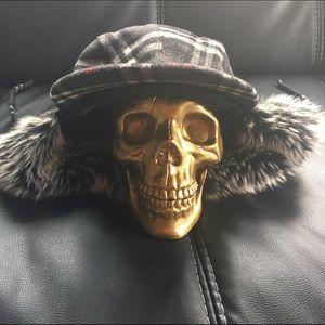 Hat, Wool Winter w/Ear Flaps