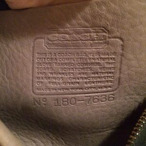 """Coach Bags - RARE! Coach 1970 """"MADISON SATCHEL"""" MADE IN NYC"""