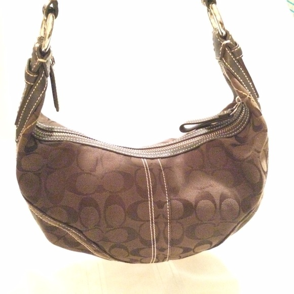 Coach Handbags - Coach brown shoulder bag