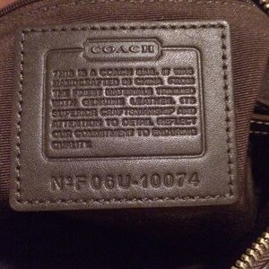 Coach Bags - Coach brown shoulder bag