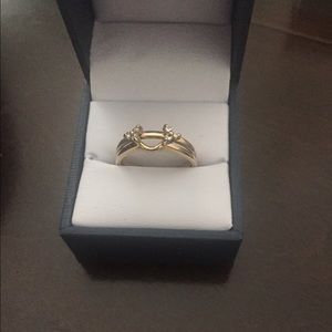 non Jewelry - Diamond Bridal Set 14k Yellow Gold