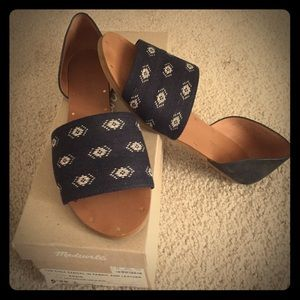 Madewell The Thea Sandal size 7