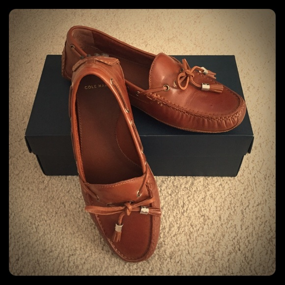 91f22003749 Cole Haan Shoes - Cole Haan Women s Leather Grant Driver in Woodbury