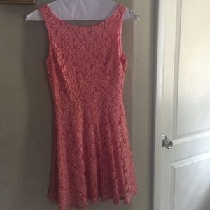Xtraordinary Dresses & Skirts - 💕pink lace dress💕