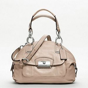 SALE! Coach Kristin Leather Domed Satchel 19296