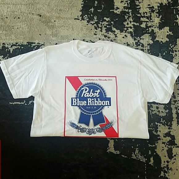5ff8e535 Pabst Blue Ribbon Shirts | Classic Pbr Shirt | Poshmark