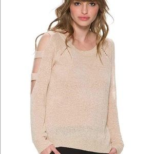 Swell Tops - Swell See Me Cut Out Sleeve Sweater