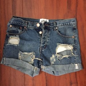 One teaspoon charger shorts!