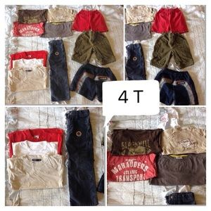 Other - Boy Lot 4T clothes European & US brands