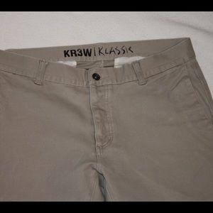 KR3W Other - Men's KR3W klassic chino pant.