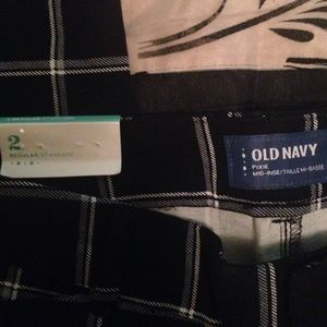 Old Navy Pants - Old navy plaid pants