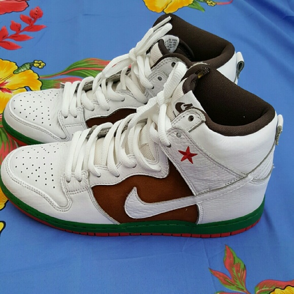 Nike SB California Dunk High Pro. Men's 8.5