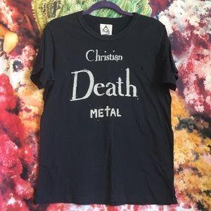 SOFT☁️ UNIF Christian Death Metal Tee