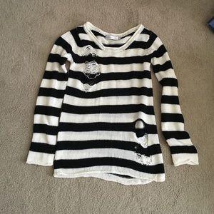 Mink Pink striped sweater
