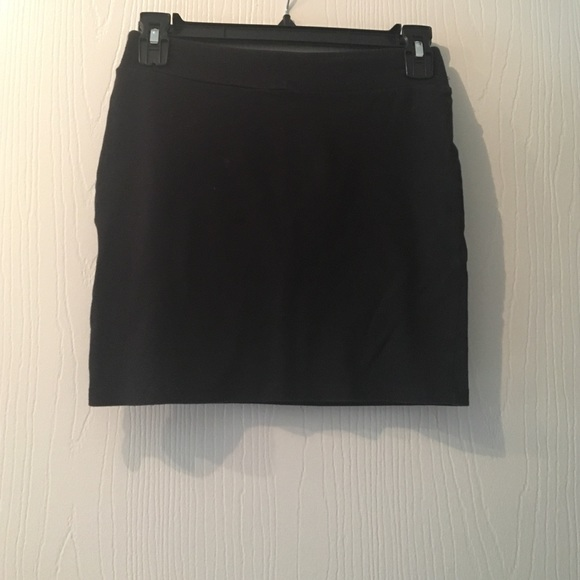 Xhilaration - Black tight mini skirt from Christine's closet on ...