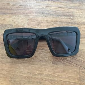 Karen Walker Accessories - Karen Walker black Derby sunglasses