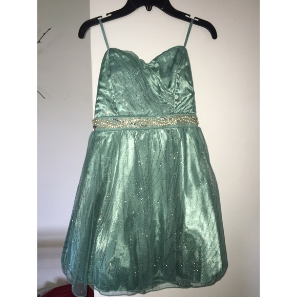 47% off Trixxi Dresses &amp Skirts - Trixxi Homecoming Dress Aqua ...