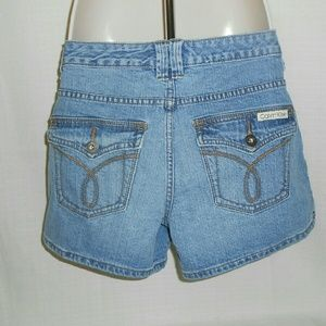 Calvin Klein Jeans Pants - Calvin Klein denim shorts flap pockets size 8