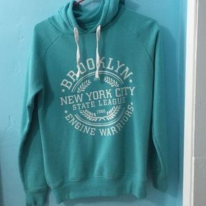 Cotton On Turquoise Hoodie