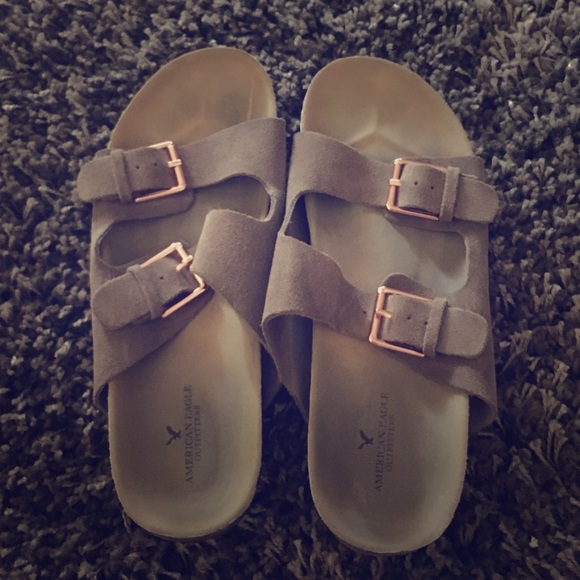 d54747b997d3 American Eagle Outfitters Shoes - 💎AEO stylish fake Birkenstocks!