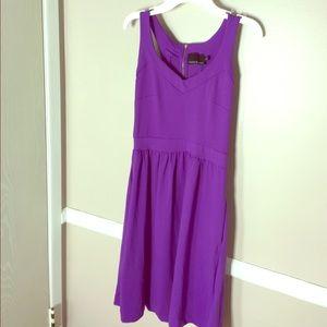 Cynthia Rowley Purple Dress