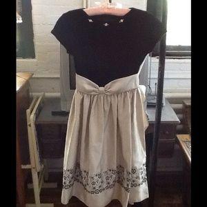 Little Miss Dresses & Skirts - Little Miss Child's velvet dress USA, 12 worn once