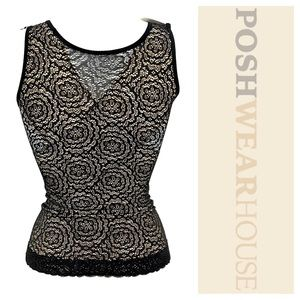 805dcc653644d Intimates   Sleepwear - Black   Nude Lace Shapewear LARRY LEVINE