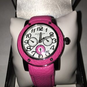Akribos XXIV Accessories - Akribos XXIV pink watch