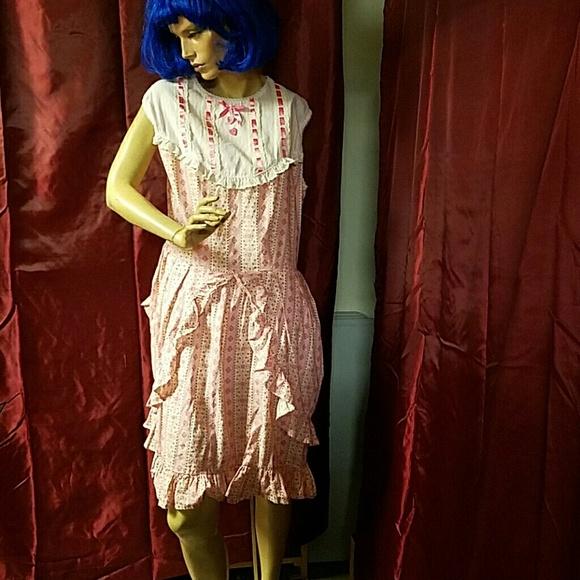 Dresses | Plus Size Pink Lolita Dress | Poshmark