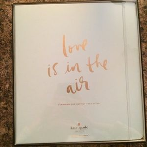 Kate Spade Love Is In The Air Wedding Planner