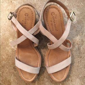 bbc85925460 Corso Como Shoes - Corso Como Gladis Espadrille wedge sandal