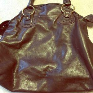 Bulga brown bag, chocolate color