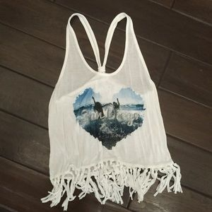 NWOT Beachy Top
