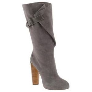 Boutique 9 Shoes - Boutique 9 Gray Suede Boots