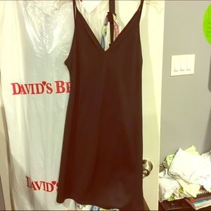 French connection slip dress, l