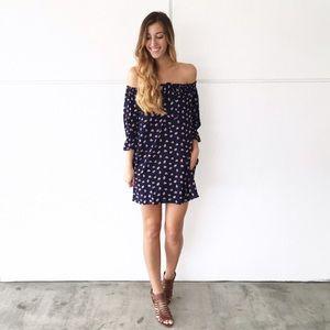 | new | off the shoulder floral dress