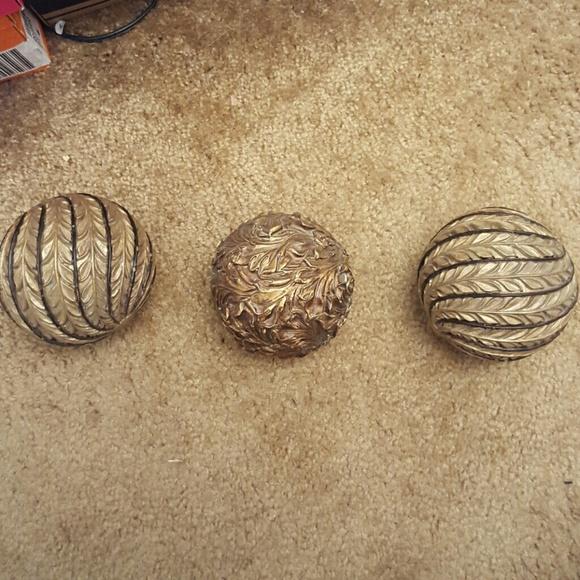 Other Decorative Balls Orbs Home Decor Poshmark