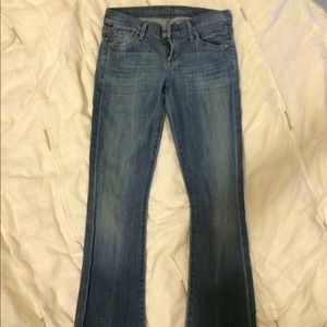 SIZE 26 CITIZENS OF HUMANITY KELLY BOOTCUT