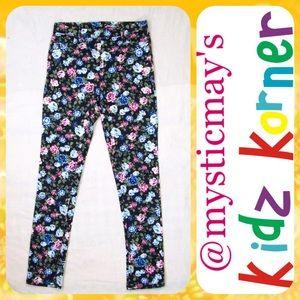 Jordache Other - NEW Girls JORDACHE Pink Floral Jeggings XL (14/16)