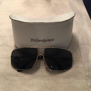 Saint Yves Sunglasses Men's Designer Metal Laurent vnwm0N8