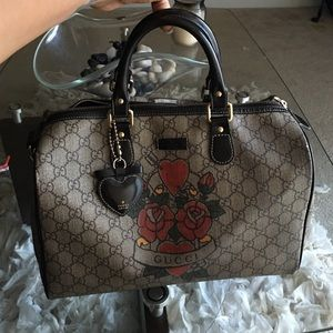  Authentic Gucci Boston Bag 