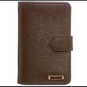 Fendi Handbags - AUTH FENDI NEW IN BOX LEATHER BI-FOLD WALLET BLACK