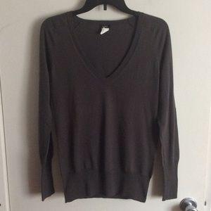 J.Crew V Neck Sweater Size S